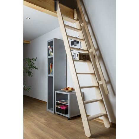 Escalier de meunier pour cage d'escalier 60 cm x 90 cm