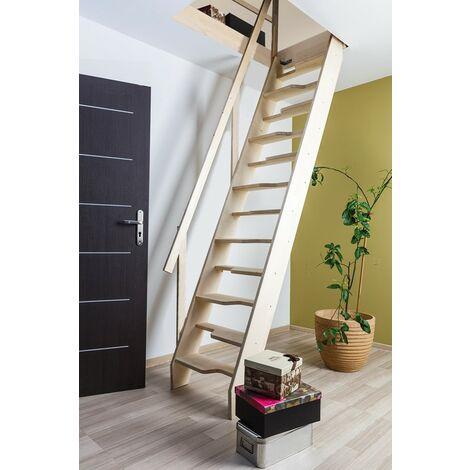 Escalier de meunier pour cage d'escalier 64 cm x 113 cm