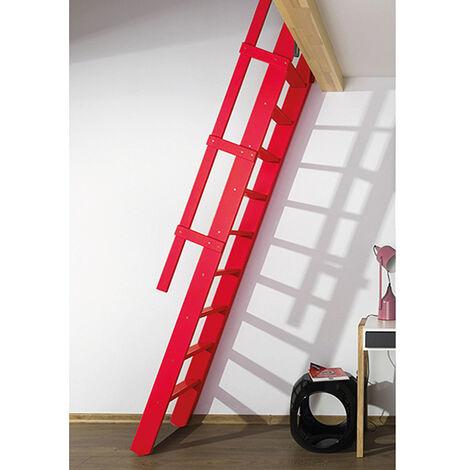 Escalier de meunier rabattable : couleurs claires (plusieurs tailles disponibles)