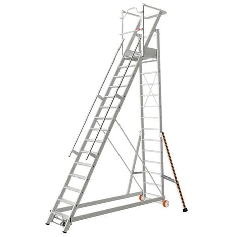 Escalier de rayonnage