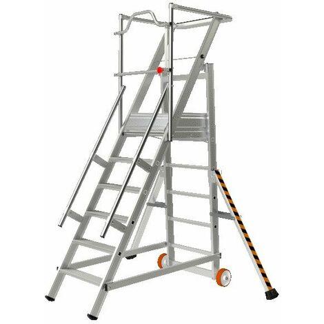 Escalier de rayonnage - DE 1.10 m A 1.54 m