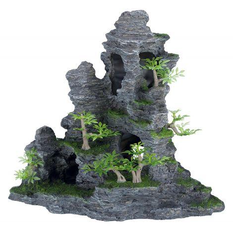 Escalier de roche 31 cm pour aquarium