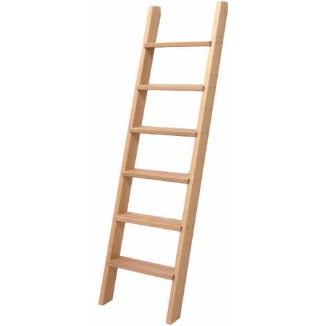 Escalier droit bois - Largeur de 50cm (plusieurs tailles disponibles)
