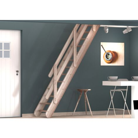 Escalier droit osaka petits espaces