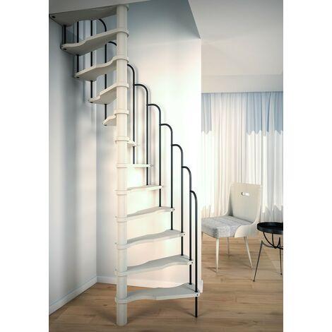 Escalier en colimaçon petits espaces 140 x 70