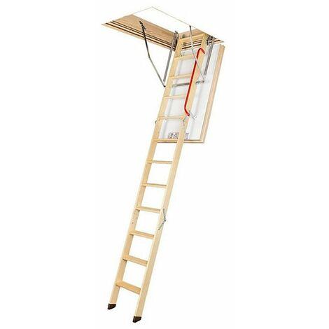 Escalier escamotable BBC - Hauteur maximale sous plafond 2.80m (plusieurs tailles disponibles)