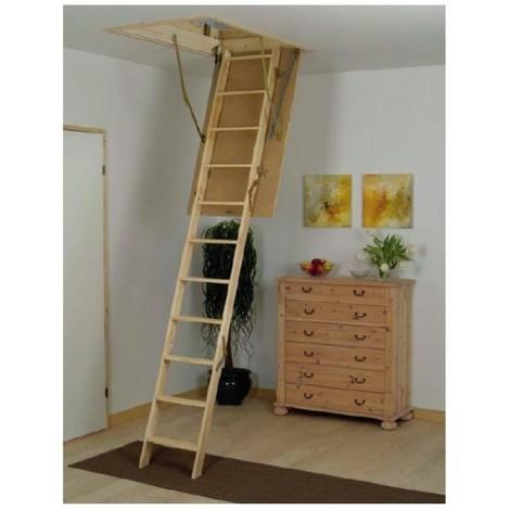 Escalier escamotable isolé