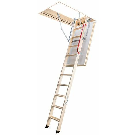 Escalier escamotable isolé - Haut. sous plafond 2.80m (plusieurs tailles disponibles)