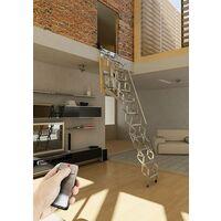 Escalier escamotable mural électrique (plusieurs tailles disponibles)