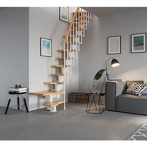 Escalier gain de place - Configuration en L (plusieurs tailles disponibles)