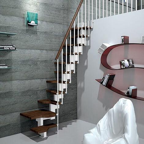 Escalier gain de place - Configuration en U (plusieurs tailles disponibles)