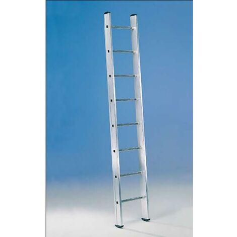 Escalier industriel 1 Section 8 marches 2,40Mt Aluminium Svelt