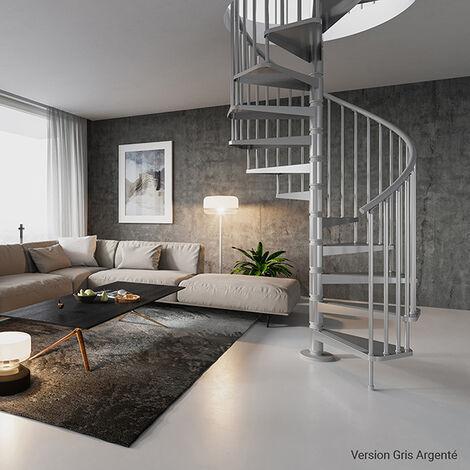 Escalier métal - Ø 1.20m (plusieurs tailles disponibles)