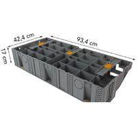 Escalier modulesca bois ou dalle 100 cm modulesca