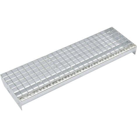 Escalones 4 uds Press-locked acero galvanizado 1000x240 mm