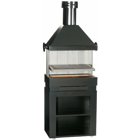 ESCALOR Barbecue inox ES PATIO charbon de bois