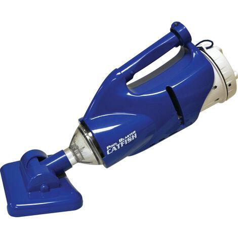 escoba de limpieza eléctrica - pool blaster catfish - water tech -