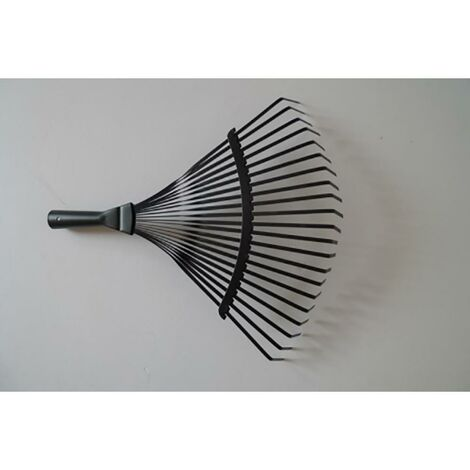 Escoba jardin negro metal natuur nt113621