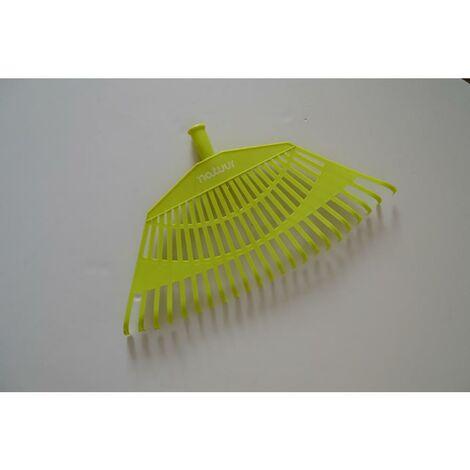 Escoba jardin verde plastico natuur nt113625