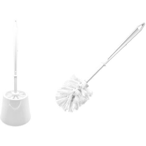 Escobillero Completo Big WC blanco
