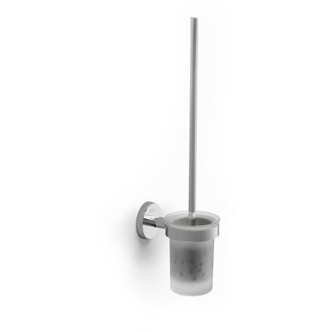 Escobillero de pared (Posibilidad de instalación mediante tornillería o adhesivo) - Serie Twin - Roca