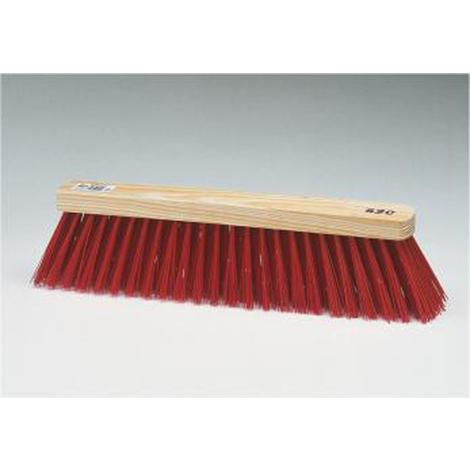 Escobon Barrendero Fibra Roja - Barbosa - 01505 - 520X65 Mm