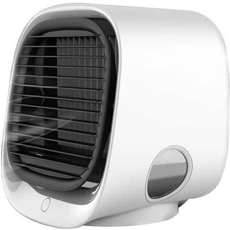 Escritorio de aire mas fresco del acondicionador de aire del ventilador, un escritorio pequeno ventilador USB, ROSA