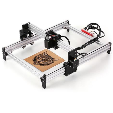 Escritorio DIY Mequina de grabado leser, impresora leser CNC grabador Carver