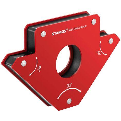 Escuadra magnética para soldar - set de 2 piezas - 15,5 x 10 x 2 cm
