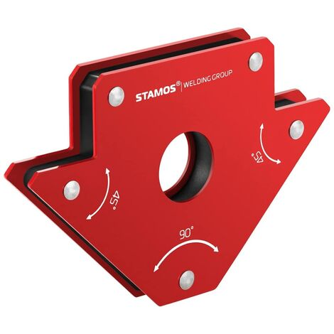 Escuadra magnética para soldar - set de 2 piezas - 11,5 x 8,3 x 1,4 cm