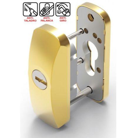 Escudo Carpinteria Metalica 90X33X28+10Mm Scutum Oro Lince
