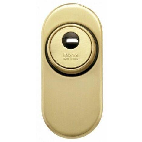 Escudo Cilindro 1850Ss-2 Oro Alta Seguridad Cerrado Conico Mcm