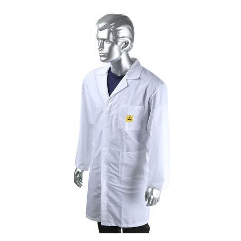 ESD Unisex Lab Coat, Large