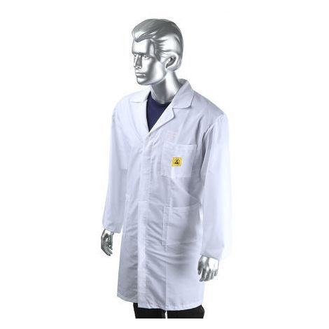 ESD Unisex Lab Coat, Medium