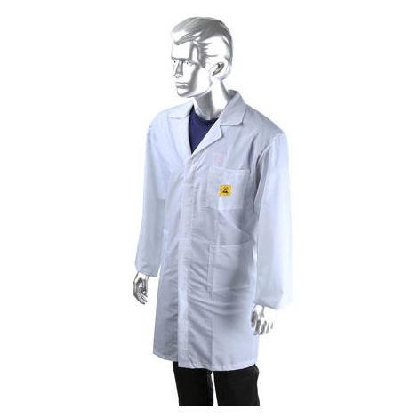 ESD Unisex Lab Coat, X Large
