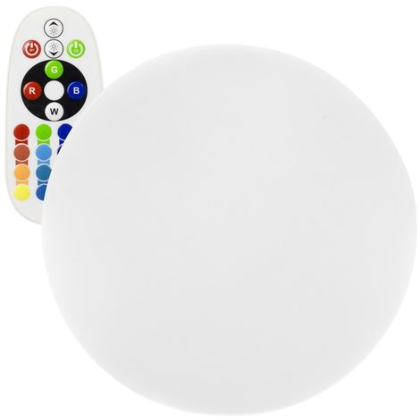 Esfera LED RGBW 60cm Recargable