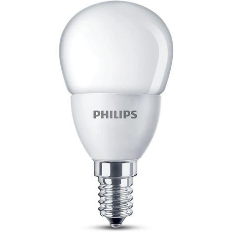 Esferica led E-14 mate 4 W Philips
