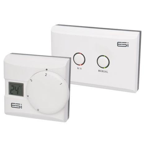 ESI ESRTERFW Wireless Digital Room Thermostat with TPI