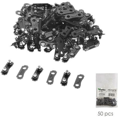 Eslabones union cadenas motosierra (pack 50 piezas)