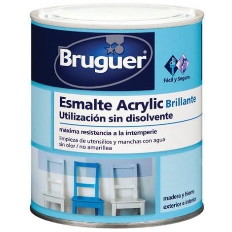 Esm Acrylic Sat Blanco - BRUGUER - 5057419 - 4 L