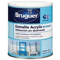 Esm Acrylic Sat Blanco Permane - BRUGUER - 5160660 - 250 ML