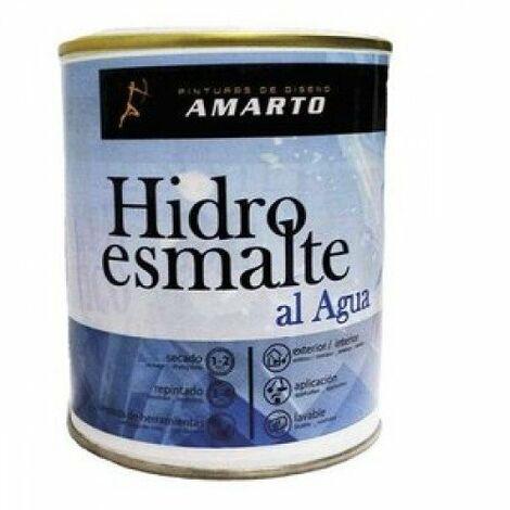 ESMALTE ACRILICO C/POLIURETANO 750ML NEGRO BRILLO