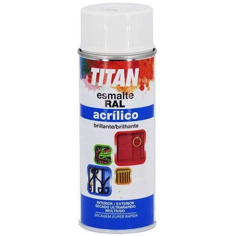 Esmalte Acrílico Titan Spray 400 mL   RAL 8014