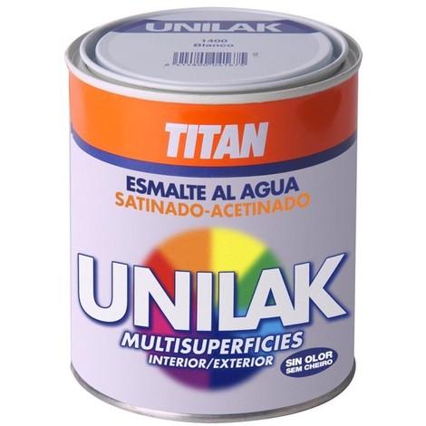 Esmalte al agua Unilak satinado