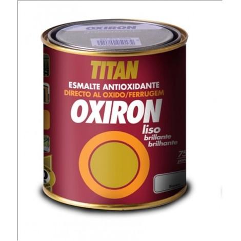 Esmalte antioxi. bri. 750 ml gr/med ext. oxiron titan