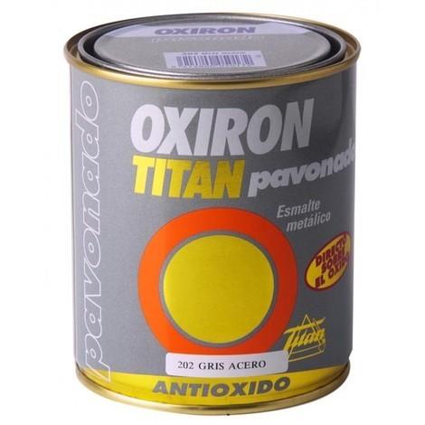 Esmalte antioxi. pavon. 375 ml gr ext. oxiron titan