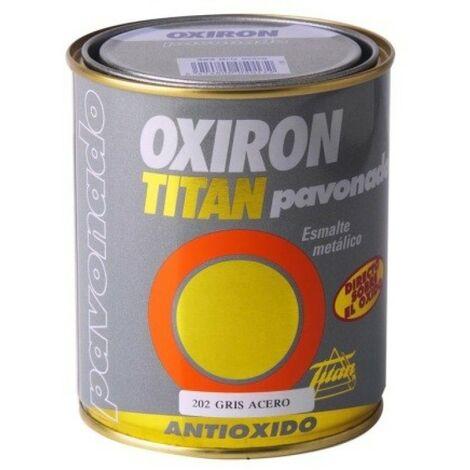 Esmalte antioxi. pavon. 750 ml gr ext. oxiron titan