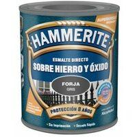 Esmalte Antioxidante 2,5 Lt Gris Oscuro Exterior Hammerite