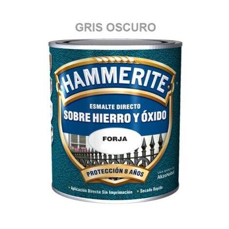 Esmalte Antioxidante 750 Ml Gris Oscuro Exterior Hammerite