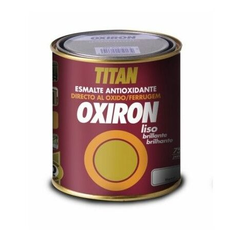 Esmalte Antioxidante Brillante 750 Ml Blanco Exterior Oxiron Titan
